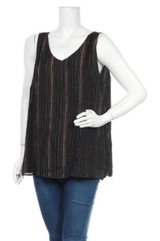 Γυναικείο αμάνικο μπλουζάκι Suzanne Grae, Μέγεθος XXL, Χρώμα Μαύρο, Πολυεστέρας, Τιμή 9,94€