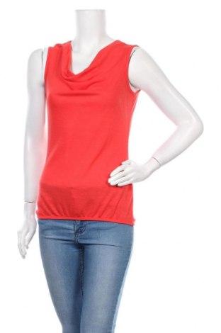 Γυναικείο αμάνικο μπλουζάκι Zero, Μέγεθος S, Χρώμα Κόκκινο, 50% βισκόζη, 50% πολυεστέρας, Τιμή 2,50€