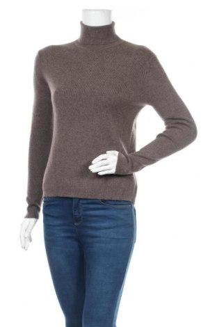 Дамски пуловер Authentic Cashmere, Размер M, Цвят Сив, 100% кашмир, Цена 85,05лв.