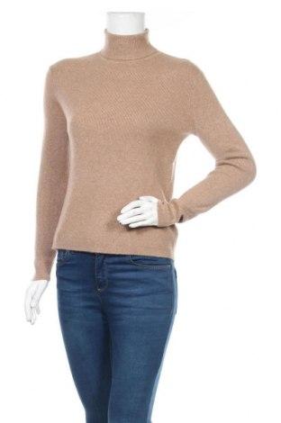 Дамски пуловер Authentic Cashmere, Размер M, Цвят Кафяв, 100% кашмир, Цена 81,90лв.