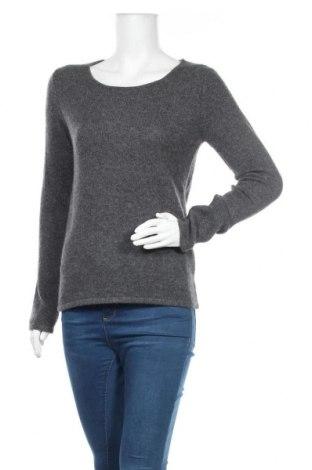 Дамски пуловер Authentic Cashmere, Размер M, Цвят Сив, Кашмир, Цена 85,05лв.
