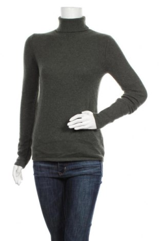 Дамски пуловер Authentic Cashmere, Размер M, Цвят Зелен, Кашмир, Цена 85,05лв.