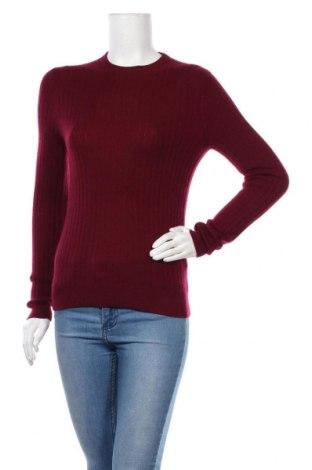 Дамски пуловер Authentic Cashmere, Размер M, Цвят Червен, Кашмир, Цена 85,05лв.