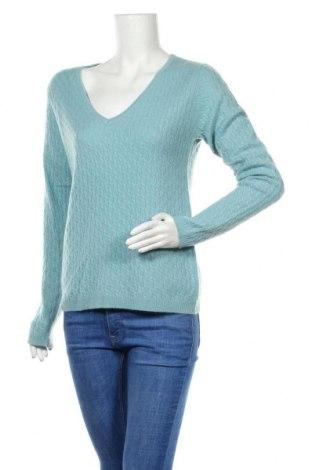 Дамски пуловер Authentic Cashmere, Размер M, Цвят Син, Кашмир, Цена 85,05лв.