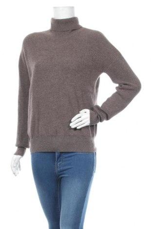 Дамски пуловер Authentic Cashmere, Размер M, Цвят Кафяв, 100% кашмир, Цена 86,40лв.