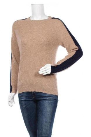 Дамски пуловер Authentic Cashmere, Размер M, Цвят Бежов, Кашмир, Цена 85,05лв.