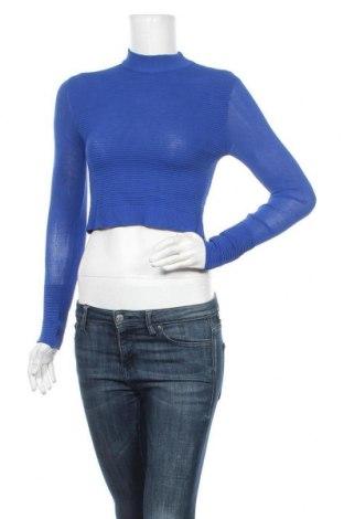 Дамски пуловер Bardot, Размер XS, Цвят Син, 65% вискоза, 35% полиамид, Цена 13,44лв.