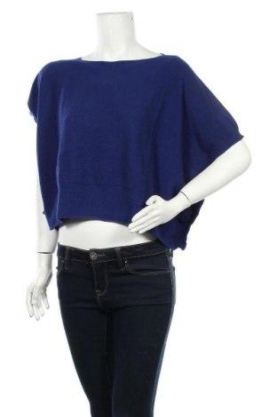 Γυναικείο πουλόβερ Denny Rose, Μέγεθος S, Χρώμα Μπλέ, 60% πολυαμίδη, 30% βισκόζη, 7% μαλλί, 3% κασμίρι, Τιμή 38,21€