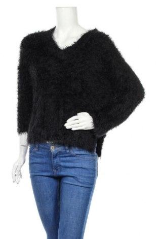 Pulover de femei H&M, Mărime XS, Culoare Negru, 72% poliamidă, 28%acril, Preț 38,30 Lei