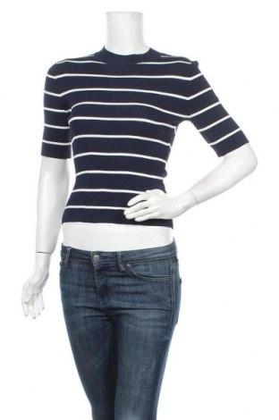Дамски пуловер JAG, Размер XS, Цвят Син, 63% вискоза, 37% полиамид, Цена 20,74лв.