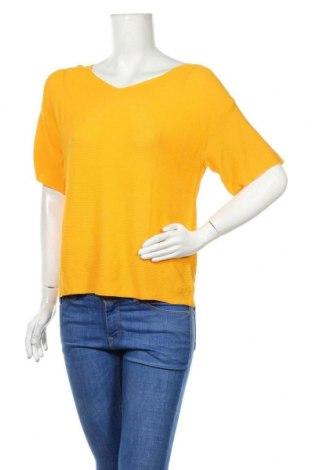 Γυναικείο πουλόβερ October, Μέγεθος S, Χρώμα Κίτρινο, 65% βισκόζη, 35% πολυαμίδη, Τιμή 20,10€