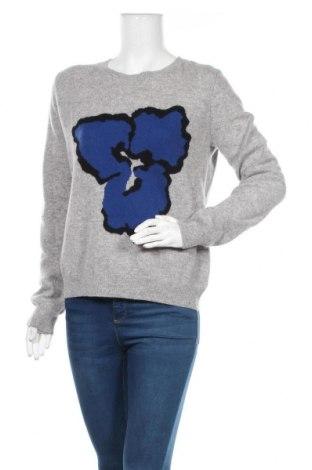 Дамски пуловер Perfect Cashmere, Размер M, Цвят Сив, Кашмир, Цена 141,75лв.