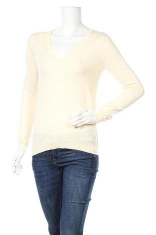 Дамски пуловер Polo Club, Размер S, Цвят Екрю, Памук, Цена 30,72лв.