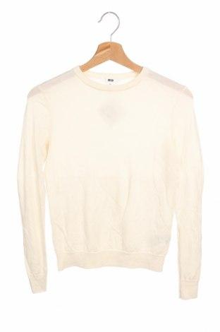 Dámský svetr Uniqlo, Velikost XS, Barva Bílá, Vlna, Cena  258,00Kč