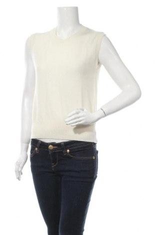 Γυναικείο πουλόβερ United Colors Of Benetton, Μέγεθος S, Χρώμα Εκρού, 70% μαλλί, 20% πολυαμίδη, 10% κασμίρι, Τιμή 32,12€