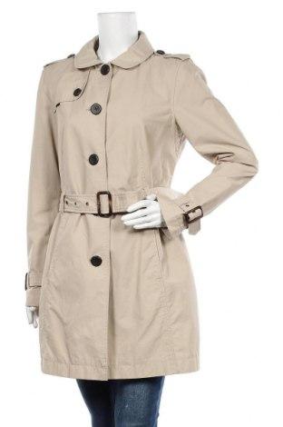 Γυναικεία καμπαρντίνα Tom Tailor, Μέγεθος L, Χρώμα  Μπέζ, 71% βαμβάκι, 29% πολυαμίδη, Τιμή 32,93€