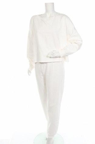 Дамски спортен комплект Anna Field, Размер XL, Цвят Бял, Памук, Цена 39,53лв.