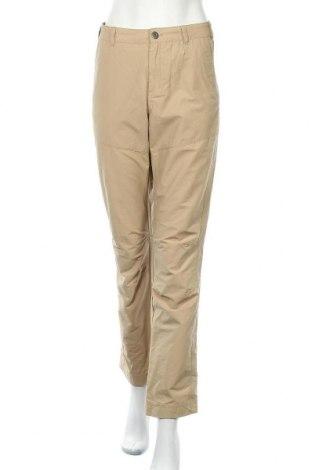 Дамски панталон Active By Tchibo, Размер L, Цвят Бежов, 62% памук, 38% полиамид, Цена 6,93лв.