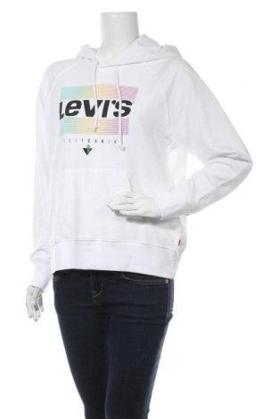 Γυναικείο φούτερ Levi's, Μέγεθος S, Χρώμα Λευκό, 60% βαμβάκι, 40% πολυεστέρας, Τιμή 38,27€