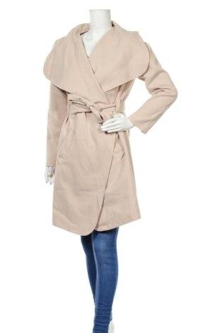 Дамско палто Creme Fraiche, Размер M, Цвят Бежов, 92% полиестер, 8% еластан, Цена 43,05лв.
