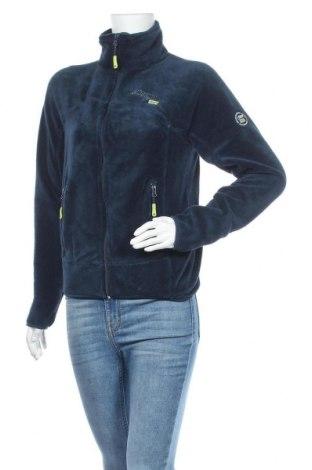 Γυναικεία ζακέτα fleece Geographical Norway, Μέγεθος M, Χρώμα Μπλέ, 100% πολυεστέρας, Τιμή 34,41€