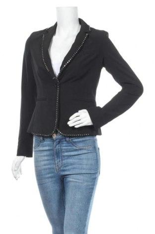 Γυναικείο σακάκι Liu Jo, Μέγεθος S, Χρώμα Μαύρο, 88% πολυεστέρας, 12% ελαστάνη, Τιμή 88,53€