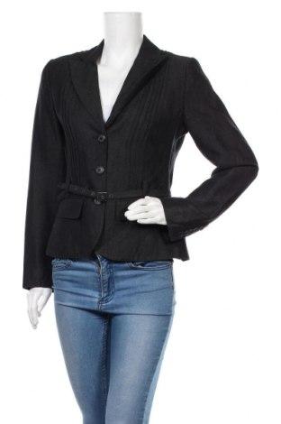 Дамско сако Luisa Cerano, Размер S, Цвят Черен, 50% лен, 45% вълна, 5% кашмир, Цена 39,69лв.