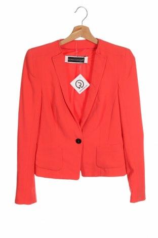 Дамско сако Luisa Cerano, Размер XS, Цвят Оранжев, 78% ацетат, 22% полиестер, Цена 22,05лв.
