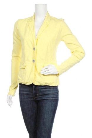 Дамско сако Monari, Размер M, Цвят Жълт, Памук, Цена 36,96лв.