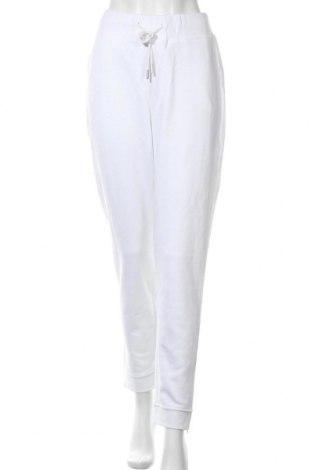 Дамско спортно долнище, Размер M, Цвят Бял, Цена 21,28лв.