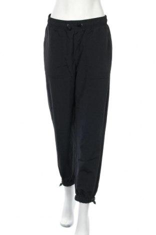 Γυναικείο αθλητικό παντελόνι Bershka, Μέγεθος XL, Χρώμα Μαύρο, Βαμβάκι, Τιμή 17,01€