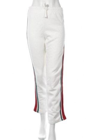 Γυναικείο αθλητικό παντελόνι Lefties, Μέγεθος XL, Χρώμα Λευκό, 60% πολυεστέρας, 40% βαμβάκι, Τιμή 12,37€