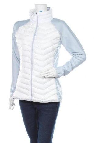 Γυναικείο μπουφάν αθλητικό Columbia, Μέγεθος L, Χρώμα Λευκό, Πολυεστέρας, Τιμή 111,73€