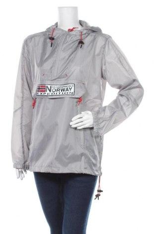 Γυναικείο μπουφάν αθλητικό Geographical Norway, Μέγεθος XL, Χρώμα Γκρί, Πολυεστέρας, Τιμή 88,53€