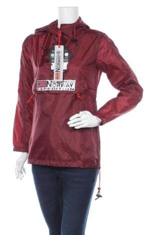 Γυναικείο μπουφάν αθλητικό Geographical Norway, Μέγεθος S, Χρώμα Κόκκινο, Πολυεστέρας, Τιμή 88,53€