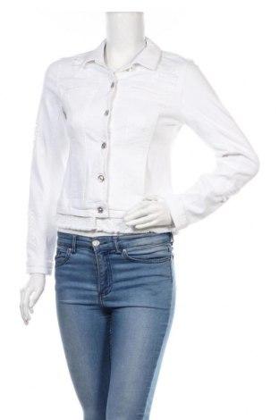 Дамско яке Monari, Размер M, Цвят Бял, 92% памук, 6% полиестер, 2% еластан, Цена 17,36лв.