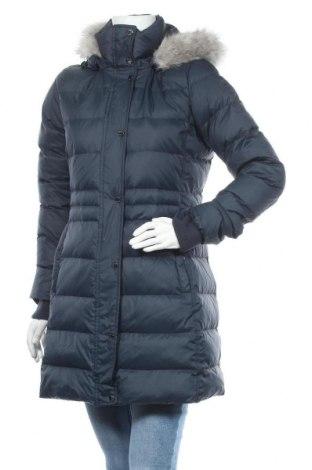Γυναικείο μπουφάν Tommy Hilfiger, Μέγεθος S, Χρώμα Μπλέ, Πολυεστέρας, φτερά και πούπουλα, Τιμή 241,75€
