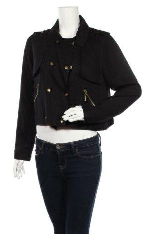 Дамско яке Yes Or No, Размер L, Цвят Черен, Вискоза, Цена 8,58лв.