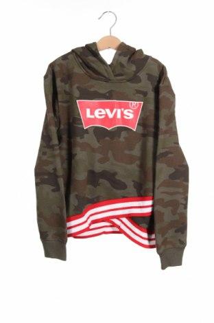Παιδική μπλούζα Levi's, Μέγεθος 10-11y/ 146-152 εκ., Χρώμα Πράσινο, 60% βαμβάκι, 40% πολυεστέρας, Τιμή 25,97€