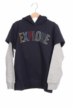 Παιδική μπλούζα Name It, Μέγεθος 6-7y/ 122-128 εκ., Χρώμα Μπλέ, 95% βαμβάκι, 5% ελαστάνη, Τιμή 13,92€