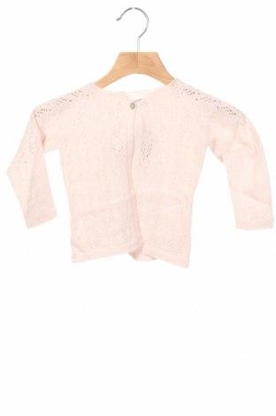 Pulover cu nasturi pentru copii Little Celebs, Mărime 9-12m/ 74-80 cm, Culoare Roz, Acrilic, Preț 38,82 Lei