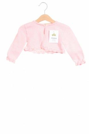 Παιδική ζακέτα Lola Palacios, Μέγεθος 9-12m/ 74-80 εκ., Χρώμα Ρόζ , Βαμβάκι, Τιμή 18,95€