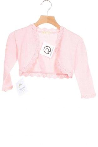 Детска жилетка Lola Palacios, Размер 18-24m/ 86-98 см, Цвят Розов, Памук, Цена 14,70лв.