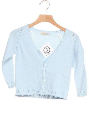 Pulover cu nasturi pentru copii Lola Palacios, Mărime 18-24m/ 86-98 cm, Culoare Albastru, Bumbac, Preț 120,89 Lei