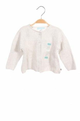 Παιδική ζακέτα Obaibi, Μέγεθος 9-12m/ 74-80 εκ., Χρώμα Γκρί, 87% βαμβάκι, 13% πολυαμίδη, Τιμή 20,10€