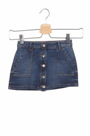 Παιδική φούστα Lefties, Μέγεθος 2-3y/ 98-104 εκ., Χρώμα Μπλέ, 98% βαμβάκι, 2% ελαστάνη, Τιμή 6,80€
