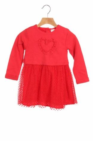Παιδικό φόρεμα Agatha Ruiz De La Prada, Μέγεθος 2-3y/ 98-104 εκ., Χρώμα Κόκκινο, 80% βαμβάκι, 15% πολυεστέρας, 5% ελαστάνη, Τιμή 24,74€