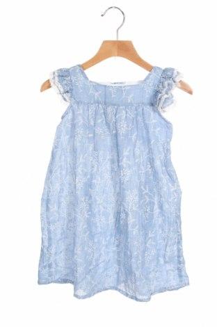 Παιδικό φόρεμα Lola Palacios, Μέγεθος 3-4y/ 104-110 εκ., Χρώμα Μπλέ, 75% πολυεστέρας, 25% βαμβάκι, Τιμή 17,78€