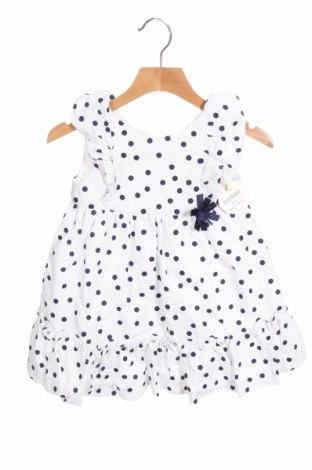Παιδικό φόρεμα Lola Palacios, Μέγεθος 2-3y/ 98-104 εκ., Χρώμα Λευκό, 88% βαμβάκι, 12% πολυεστέρας, Τιμή 17,78€