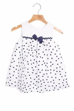 Παιδικό φόρεμα Lola Palacios, Μέγεθος 18-24m/ 86-98 εκ., Χρώμα Λευκό, Βαμβάκι, Τιμή 20,88€